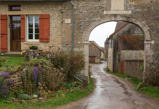 Village de Châteauneuf en Auxois