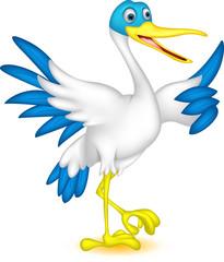 happy duck cartoon thumb up