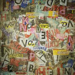 In de dag Kranten .Grunge textured background