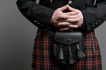 Scottish Kilt And Purse