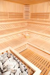 Panorama Of Finnish Sauna