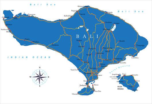 Cartina Bali Indonesia.1 505 Best Bali Map Images Stock Photos Vectors Adobe Stock