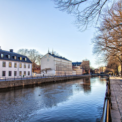 River in central Uppsala