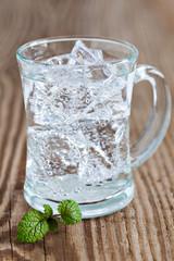frisches Mineralwasser