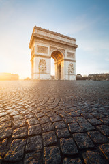 Canvas Print - Arc de Triomphe Paris France