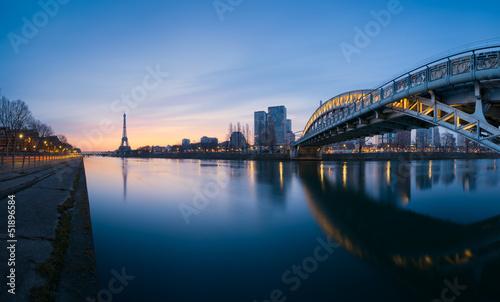 Canvas Prints Tour Eiffel Paris France