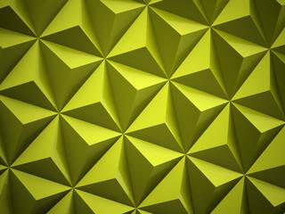 Green polygonal background