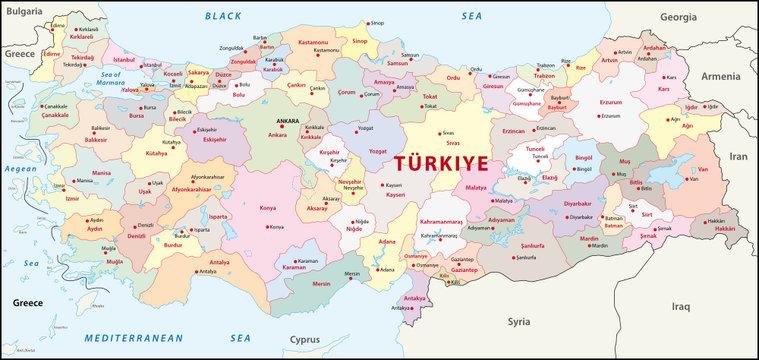 Türkei Administrativ