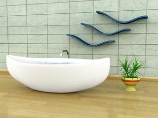Viking-style bathtub