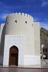 Tower and watchtower in Old Muscat