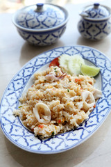 Thai Fried Rice with Seafood