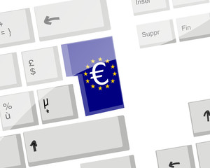 Clavier : Touche Entrer Euro
