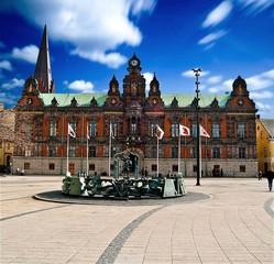 Mairie de Malmö en Suède