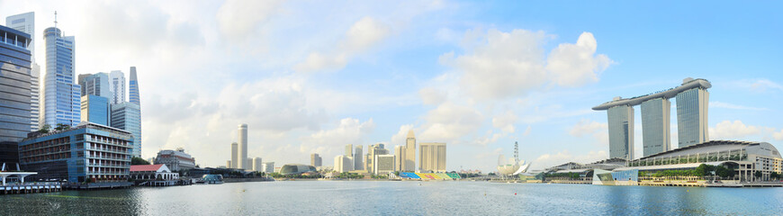 Foto op Plexiglas Singapore Singapore embankment