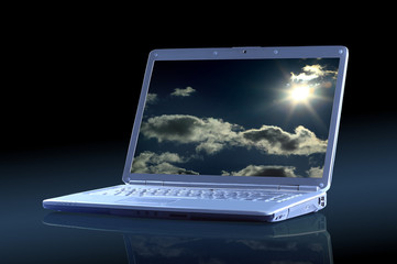 Beautiful laptop.