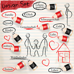 Design Set - Familie