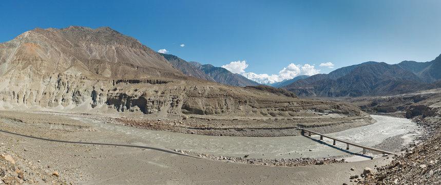Indus River Panorama, Pakistan