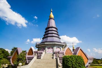 Naphapholphumisiri pagoda chiangmai Thailand