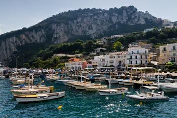 Am Hafen von Capri
