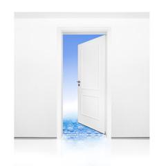 Tür ins Bad