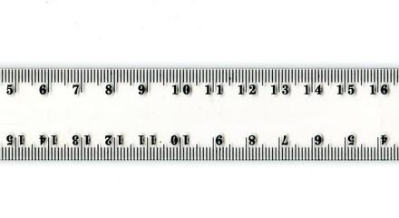 Transparent ruler