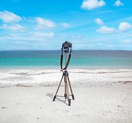 reflex on the beach