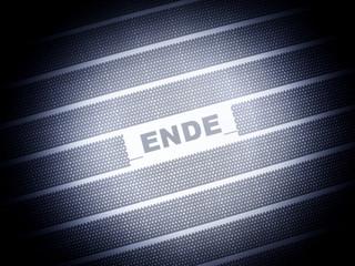 Das Ende - Ende