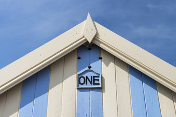One (Beach Hut Detail)