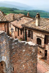 Wall Mural - Collepino, Umbria