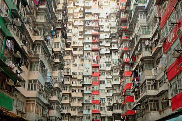 Old apartment in Hong Kong Wall mural