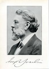 Hungarian violinist and conductor Joseph Joachim