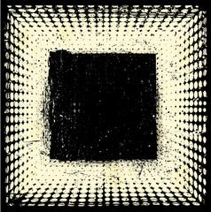Grunge halftones background