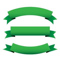 Green ribbon set