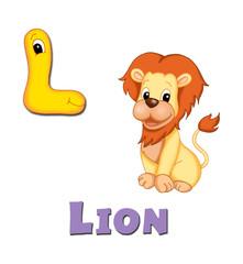 alfabeto, leone