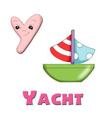 alfabeto, barca