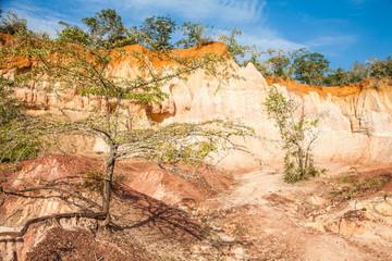 Fotoväggar - Marafa Canyon - Kenya