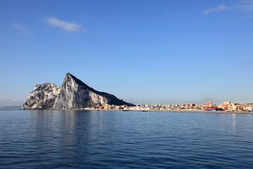Rock of Gibraltar and La Linea de la Concepcion, Spain