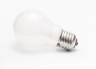 Matted tungsten light bulb