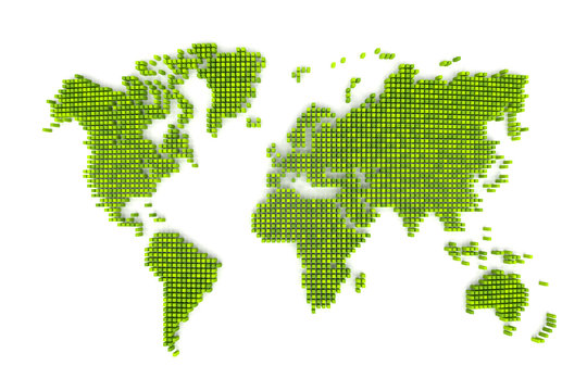 wold map eco