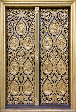 Detail on The St. Louis Marie de Montfort,Thailand