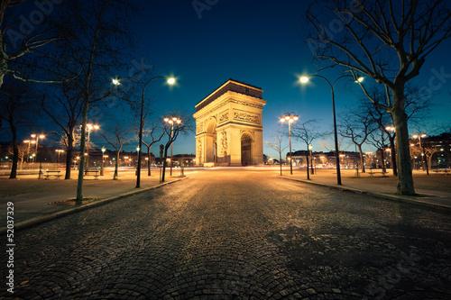 Wall mural Arc de Triomphe Paris France