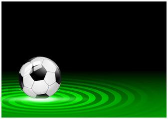 Fußball Banner Hintergrund