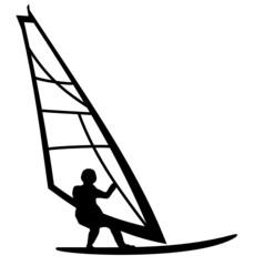 Surfer Surfbrett