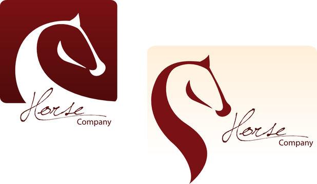 Horse Logo Set