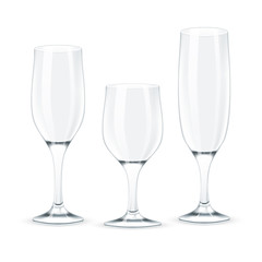 Wine glass set.