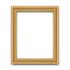 Frame vector for photo or picture
