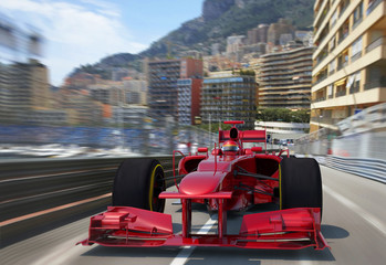 Papiers peints F1 red f1 racing monaco