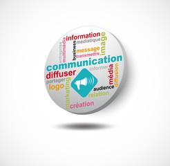 pièce 3d communication