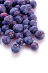 fresh blueberry spring and  summer fruit