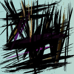 abstract background composition with strokes